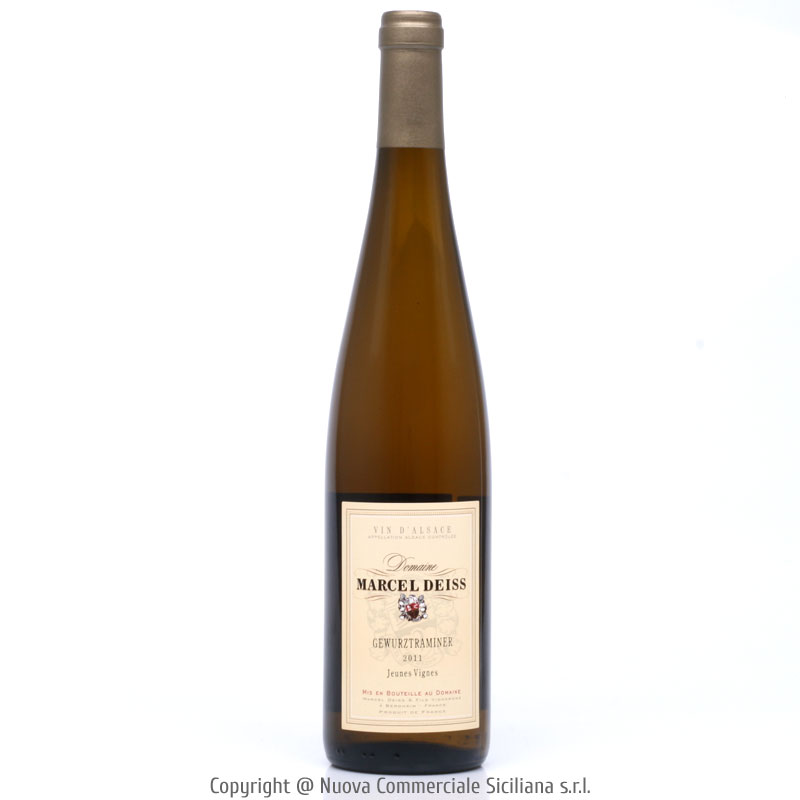 GEWÜRZTRAMINER VENDANGES TARDIVES 2011 - FRANCIA/BIANCO CL 75